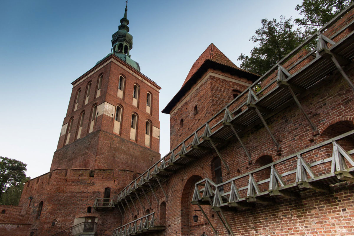 Private tours with driver from Gdansk to Castle Frombork