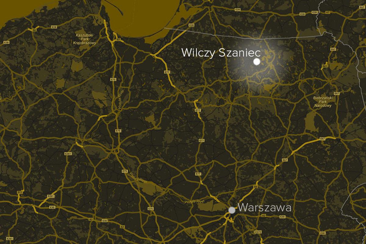 transport osób Gdańsk do Wilczy Szaniec