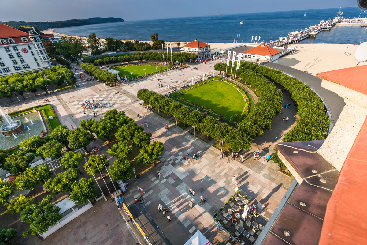 Airport Gdansk transfers to Sopot