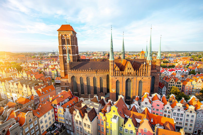 Private tours with a driver from airport Gdansk to Malbork, Stutthof, Gdansk, Sopot, Gdynia Poland